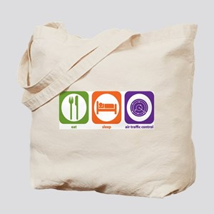 Eat Sleep Air Traffic Tote Bag