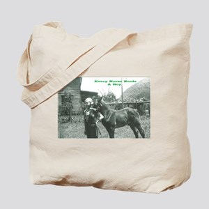 Every Horse Needs a Boy Tote Bag
