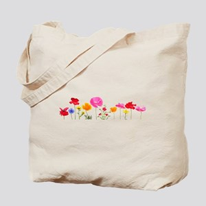 wild meadow flowers Tote Bag