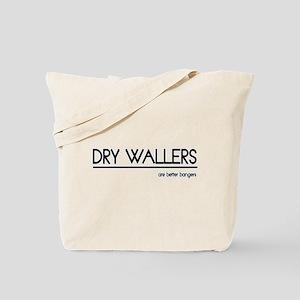 Dry Waller Joke Tote Bag