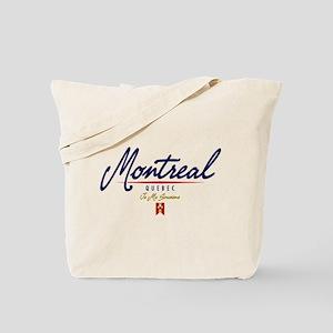 Montreal Script Tote Bag