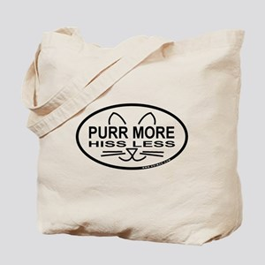 Purr More Tote Bag