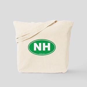 New Hampshire NH Euro Oval Tote Bag