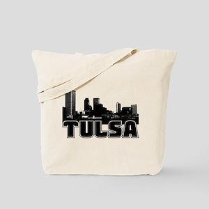 Tulsa Skyline Tote Bag