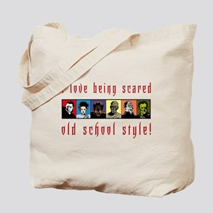 Old School Scared Tote Bag