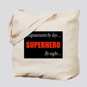 Superhero Acupuncturist Gift Tote Bag