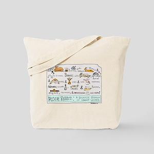 Rescue Rabbits Tote Bag