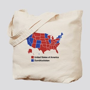 Map of Dumbfuckistan Tote Bag
