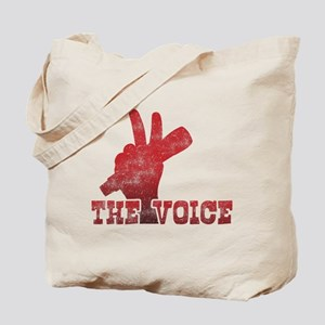 The Voice TV Show Tote Bag