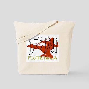 Flute Ninja Tote Bag