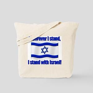 Wherever I stand! Tote Bag