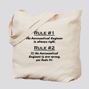 Aeronautical Engineer Tote Bag