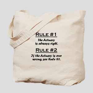 Actuary Tote Bag