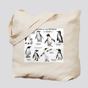 Penguins of the World Tote Bag