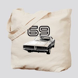 1969 Charger Tote Bag