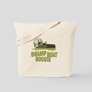 Swamp Boat Boogie Tote Bag