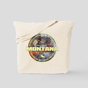 Montana Fly Fishing Tote Bag