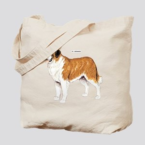 St. Bernard Dog Tote Bag