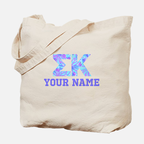 Sigma Kappa Floral Tote Bag