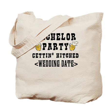 Bachelor Party (Wedding Date) Tote Bag