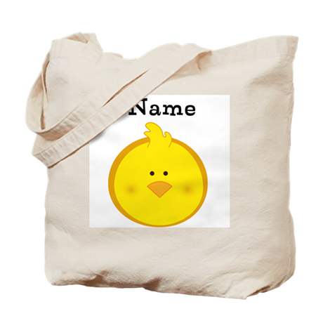 Personalized Chick Tote Bag