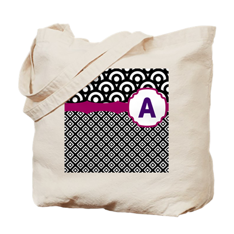 Diamond Circle Tote Bag