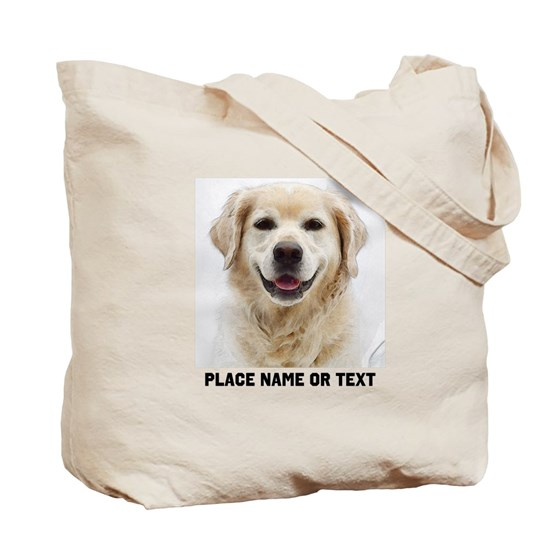 6b5eb2a29c8 Dog Photo Customized Tote Bag