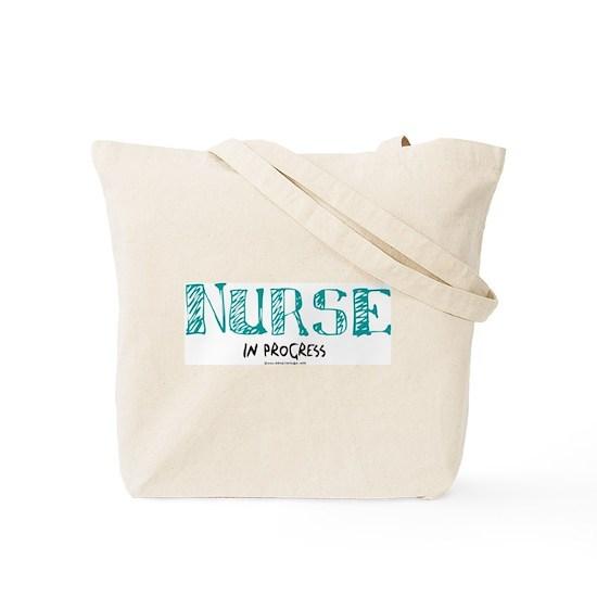 23bbb1438634 Nurse in Progress Tote Bag