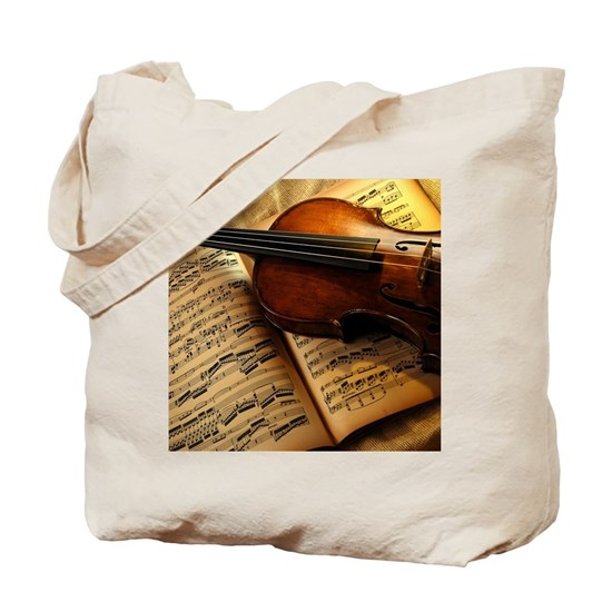 Violin On Music Sheet