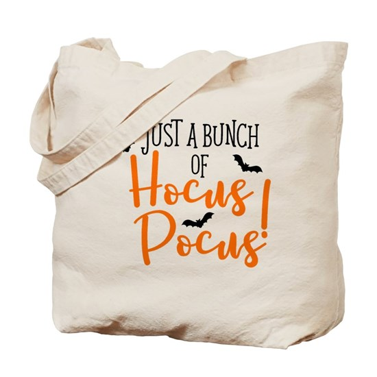 Just a bunch of Hocus Pocus canvas tote bag design