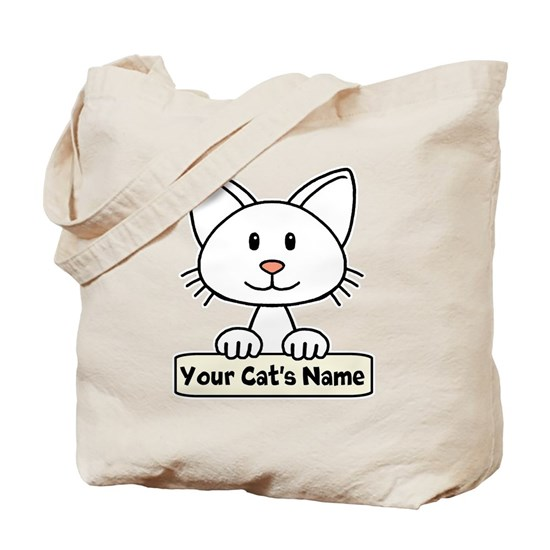 Personalized White Cat