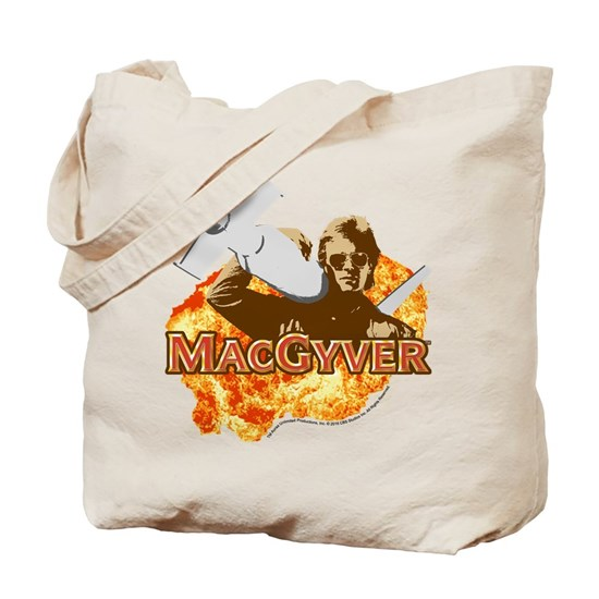 Macgyver In Action Tote Bag By Cbs Cafepress