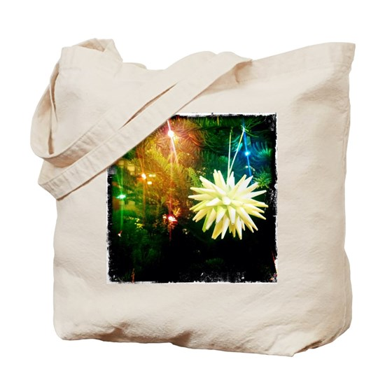 Diy Polish Star Ornament: Handmade Polish Paper Star Ornament Tote Bag By