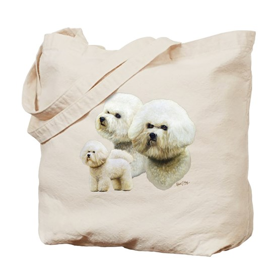 Bichon Frise Tote Bag By Robert May Giftware