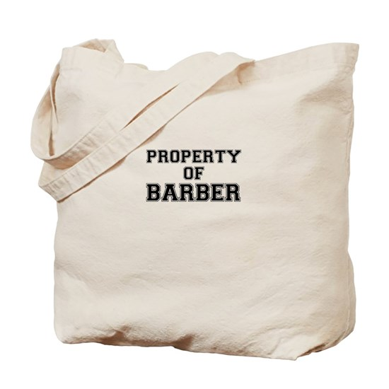 Property of BARBER