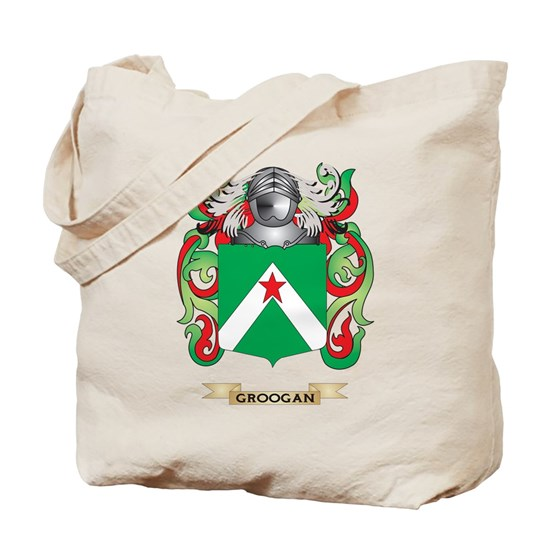 Groogan Coat Of Arms Family Crest Tote Bag By Tshirts