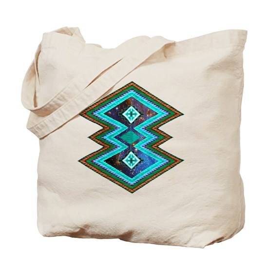 Hipster Navajo Geometric Native Indian Galaxy
