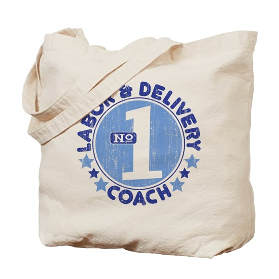 e02b48da0 1 LABOR & DELIVERY COACH Tote Bag by Southern Family Tees - CafePress