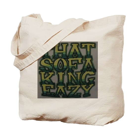 Sofa King Easy: Sofa King Easy Tote Bag By Listing-store-73416260
