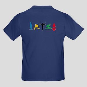 Men's Gymnastics Kids Dark T-Shirt
