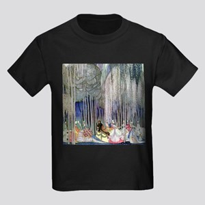 Kay Nielsen - Twelve Dancing Pri Kids Dark T-Shirt