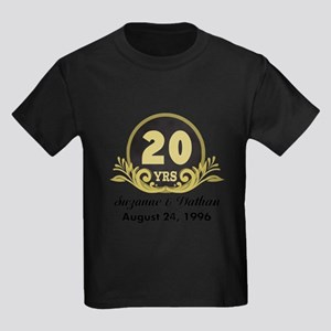20th Anniversary Personalized Gift Idea T-Shirt