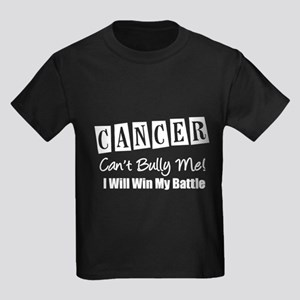 Cancer Can't Bully Me Kids Dark T-Shirt