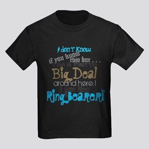Big Deal Ring Bearer Kids Dark T-Shirt