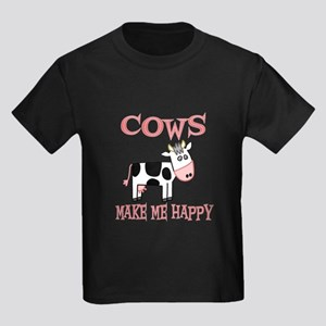 Cows Kids Dark T-Shirt