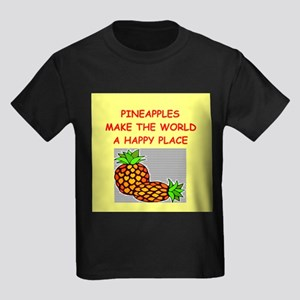 pineapples Kids Dark T-Shirt