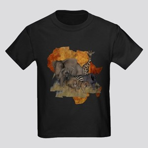 Safari Kids Dark T-Shirt