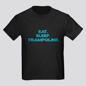 TRAMPOLINE Kids Dark T-Shirt