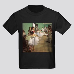 Edgar Degas Dancing Class Kids Dark T-Shirt