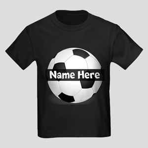 Personalized Soccer Ball Kids Light T-Shirt